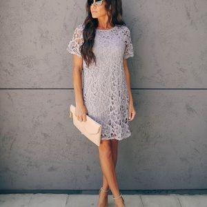 NWOT Vici The Best In Me Crochet Lace Shift Dress